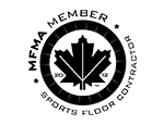 MFMA certified member sport floor contractor seal