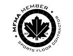 MFMA certified member sport floor contractor seal