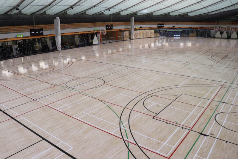 basketball flooring